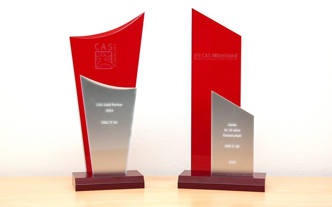 SMC ist seit 20 Jahren CAS Partner